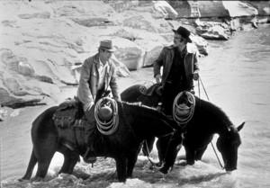 """Butch Cassidy and The Sundance Kid,""Paul Newman & Robert Redford. © 1969 20th Century Fox - Image 6016_0007"