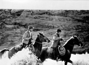 """Butch Cassidy and The Sundance Kid,""Paul Newman & Robert Redford. © 1969 20th Century Fox - Image 6016_0010"
