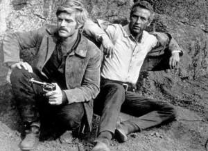 """Butch Cassidy and The Sundance Kid,""Robert Redford & Paul Newman. © 1969 20th Century Fox - Image 6016_0014"