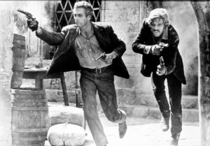 """Butch Cassidy and The Sundance Kid,""Paul Newman & Robert Redford. © 1969 2oth Century Fox - Image 6016_0019"