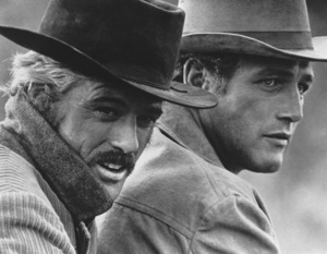 """""""Butch Cassidy and the Sundance Kid""""Robert Redford, Paul Newman1969 20th Century FoxPhoto by Bud Gray - Image 6016_0029"""