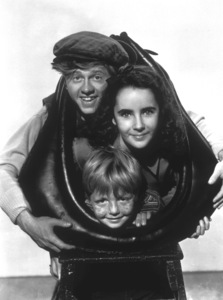 """National Velvet""Elizabeth Taylor, Mickey Rooney,Jackie Jenkins1945 MGMMPTV - Image 6019_0003"