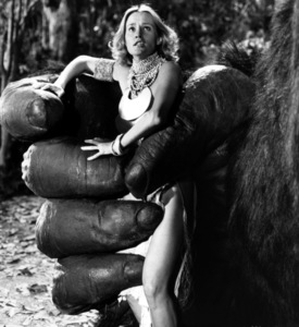 """""""King Kong""""Jessica Lange1976 Paramount - Image 6027_0006"""
