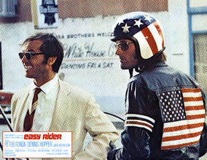 """Easy Rider"" (Lobby Card)Jack Nicholson, Peter Fonda1969 Columbia Pictures - Image 6028_0011"