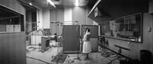 "Aretha Franklin at a recording session for the soundtrack to ""The Blues Brothers""  1979** I.V. - Image 6033_0064"