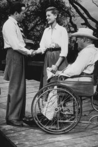 """Key Largo"" Humphrey Bogart, Lauren Bacall, and Lionel Barrymore 1948 Warner Brothers - Image 6037_0001"