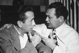 """""""Key Largo"""" Humphrey Bogart, Edward G. Robinson1948 Warner BrothersPhoto by Nat Dallinger - Image 6037_0002"""