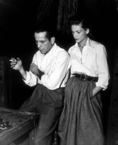 """Key Largo""Humphrey Bogart and Lauren Bacall1948 Warner Bros.Photo by Mac JulianMPTV - Image 6037_0007"