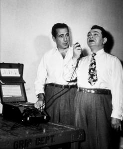 """Key Largo"" Humphrey Bogart and Edward G. Robinson 1948 Warner Brothers Photo by Mac Julian - Image 6037_0009A"