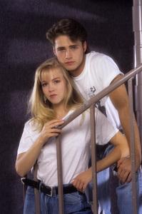 """""""Beverly Hills, 90210""""Jennie Garth, Jason Priestley1990© 1990 Mario Casilli - Image 6064_0115"""