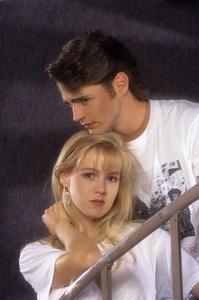 """""""Beverly Hills, 90210""""Jennie Garth, Jason Priestley1990© 1990 Mario Casilli - Image 6064_0116"""