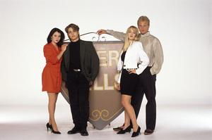 """Beverly Hills, 90210""Shannen Doherty, Jason Priestley, Jennie Garth, Ian Ziering1990© 1990 Mario Casilli - Image 6064_0140"