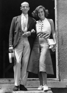 """""""The Dancing Lady""""Fred Astaire and Joan CrawfordMGM, 1933**I.V. - Image 6094_0015"""
