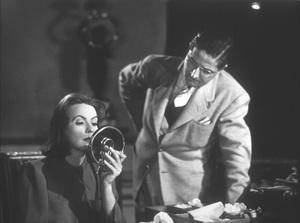 """Ninotchka""Greta Garbo with camera-man William Daniels1939 MGM - Image 6103_0006"