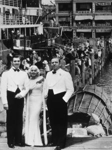 """China Seas,""Clark Gable, Jean Harlow, Wallace Beery.1935 MGM - Image 6119_0001"
