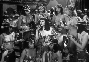 """Cleopatra""Claudette Colbert1934 Paramount - Image 6126_0003"