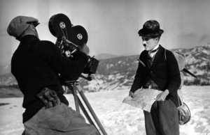 """Charlie Chaplin in character during the making of """"The Gold Rush,"""" 1925.Photo by Stern**I.V. - Image 6150_0004"""