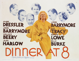 """Dinner at Eight (8)""Poster1933 MGM**I.V. - Image 6154_0008"