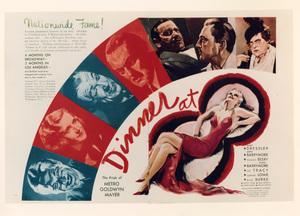 """Dinner at Eight (8)""Poster1933 MGM**I.V. - Image 6154_0009"