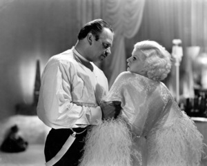 """""""Dinner at Eight""""Wallace Beery & Jean Harlow1933 MGM**I.V. - Image 6154_0013"""