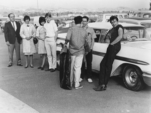 """""""American Graffiti""""Cindy Williams, Ron Howard, Richard Dreyfuss, Charles Martin Smith, Paul Le Mat1973 Universal Pictures - Image 6199_0058"""