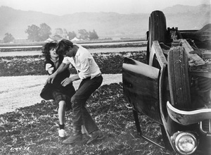 """""""American Graffiti""""Cindy Williams, Harrison Ford1973 Universal Pictures - Image 6199_0065"""