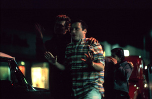 """American Graffiti""Bo Hopkins, Richard Dreyfuss1973 Universal Pictures** I.V. - Image 6199_0153"