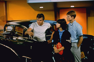 """""""American Graffiti""""Paul Le Mat, Cindy Williams, Ron Howard1973 Universal Pictures** I.V. - Image 6199_0202"""