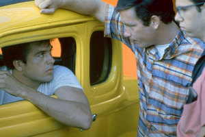 """American Graffiti""Paul Le Mat, Richard Dreyfuss, Charles Martin Smith1973 Universal Pictures** I.V. - Image 6199_0224"