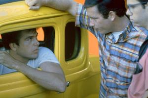 """American Graffiti""Paul Le Mat, Richard Dreyfuss, Charles Martin Smith1973 Universal Pictures** I.V. - Image 6199_0224"