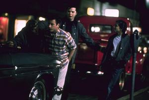 """American Graffiti""Bo Hopkins, Richard Dreyfuss, Beau Gentry, Manuel Padilla Jr.1973 Universal Pictures** I.V. - Image 6199_0237"