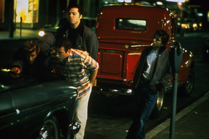 """American Graffiti""Bo Hopkins, Richard Dreyfuss, Beau Gentry, Manuel Padilla Jr.1973 Universal Pictures** I.V. - Image 6199_0255"