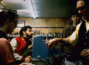 """""""American Graffiti""""Director George Lucas, Charles Martin Smith1973 Universal Pictures** I.V. - Image 6199_0274"""