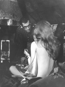 """Barbarella""Jane Fonda and director/husband Roger Vadim1968 Paramount**I.V. - Image 6232_0157"