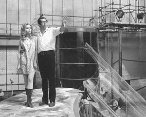 """Barbarella""Jane Fonda and director/husband Roger Vadim1968 Paramount**I.V. - Image 6232_0163"