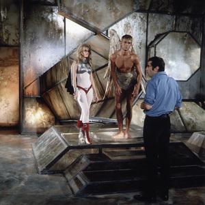"""Barbarella""Jane Fonda, John Phillip Law, director Roger Vadim1968 Paramount Pictures** I.V. - Image 6232_0195"