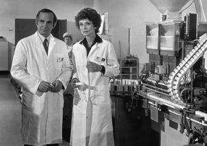 """Bloodline"" Ben Gazzara andAudrey Hepburn © 1979 Paramount - Image 6249_0001"