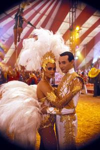 """Big Top Pee-Wee""Valeria Golino, Paul  Reubens © 1986 UniversalPhoto by Bud Gray - Image 6257_0010"