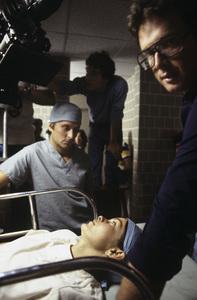 """Coma""Director Michael Crichton, Michael Douglas, Geneviève Bujold1978 MGM© 1978 Bruce McBroom - Image 6295_0036"