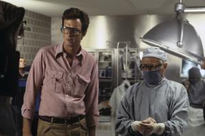 """Coma""Director Michael Crichton, Richard Widmark1978 MGM© 1978 Bruce McBroom - Image 6295_0042"