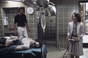 """Coma""Director Michael Crichton, Geneviève Bujold1978 MGM© 1978 Bruce McBroom - Image 6295_0043"