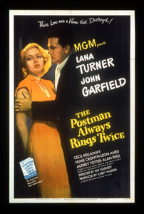 """""""The Postman Always Rings Twice""""Poster1946 MGM**I.V. - Image 6373_0005"""