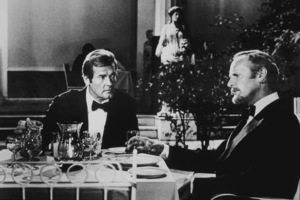 """""""For Your Eyes Only,""""Roger Moore, Julian Glover © 1981 UA / MPTV - Image 6419_0006"""