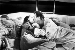 """""""For Your Eyes Only,""""Carole Bouquet, Roger Moore@ 1981 UA / MPTV - Image 6419_0008"""
