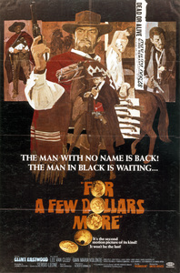 """""""For A Few Dollars More""""Poster (Clint Eastwood)1965 United Artists**I.V. - Image 6422_0004"""