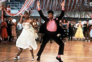 """Grease""John Travolta, Olivia Newton-John © 1978 Paramount - Image 6457_0017"