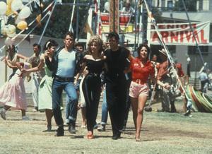 """Grease""Jeff Conway, John Travolta, Olivia Newton-John, Stockard Channing © 1978 Paramount - Image 6457_0021"