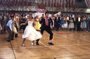 """Grease""Olivia Newton-John, John Travolta © 1978 Paramount Pictures** I.V. - Image 6457_0035"
