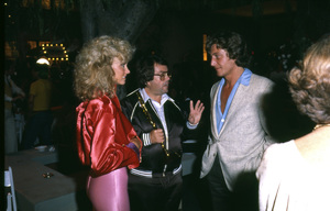 """Grease"" (Premiere)Allan Carr, Olivia Newton-John © 1978 Paramount Pictures** I.V. - Image 6457_0041"