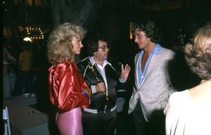 """Grease"" (Premiere)Allan Carr, Olivia Newton-John © 1978 Paramount Pictures** I.V. - Image 6457_0041"